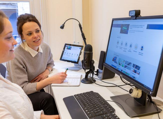 1-to-1 user testing on desktop and tablet for NCSC